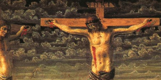 Crucifixion by Andrea del Castagno, National Gallery London